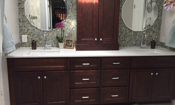 Solid Wood Bathroom Vanity Specials & Raleigh Premium Cabinets u2013 Kitchen Remodeling in Raleigh NC
