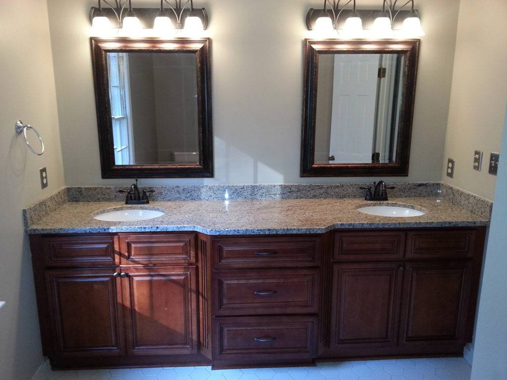 Bathroom vanity cabinets raleigh premium cabinets for Bathroom cabinet renovation ideas